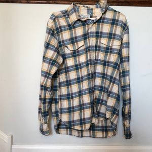 Plaid flannel lucky brand